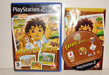 JEU SONY PLAYSTATION 2 PS2  - GO DIEGO MISSION SAFARI COMPLET