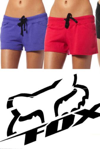 Fox Racing Femmes pour FILLES Artificiel Short Noir Rose Pourpre Board Surf Gym