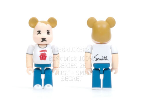 Medicom Toy Bearbrick 100/% SERIES 26 SMITH SECRET Be@rbrick S26 Smith Secret