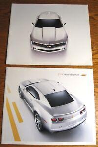 2010-amp-2011-Chevrolet-Camaro-Prestige-Brochure-LOT-LT-RS-SS-GM-HUGE