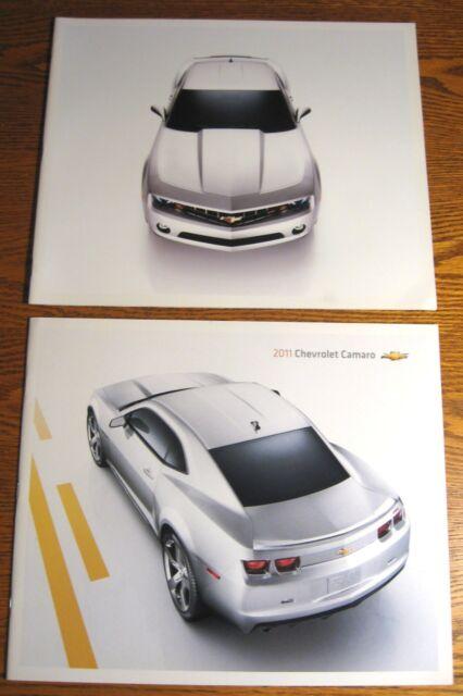 2010 & 2011 Chevrolet Camaro Prestige Brochure LOT, LT RS SS GM HUGE