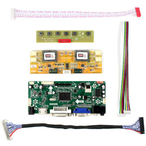 "HDMI DVI VGA Audio Control Board For 17/"" 19/"" M170EG02 HSD190ME13 1280x1024 LCD"