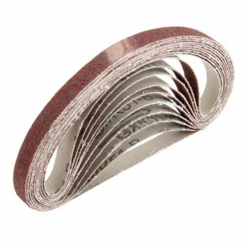 10pcs-330*10mm-Abrasive Sanding Belts Grit 80# Sander Grinding Polishing Tools