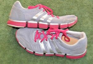 mujer para y gris talla Climacool rosa 9 Zapatos Adidas 5 q858dnT