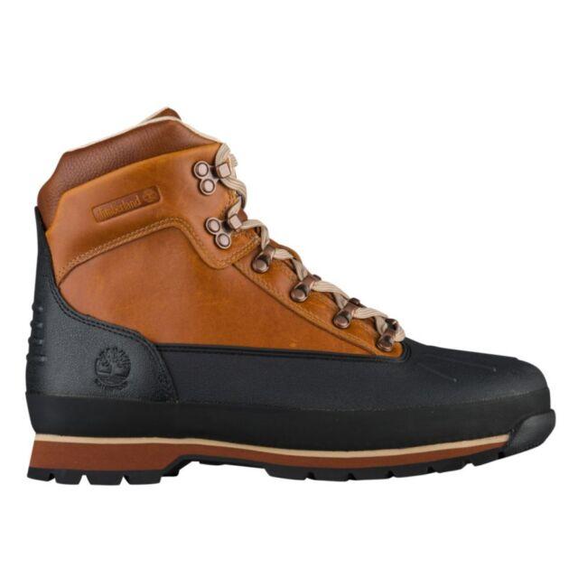 8d5bda9f748 NIB Men Timberland Euro Hiker Waterproof Shell Toe Boots Burnt Orange  TB0A18DD