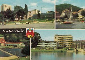 Suhl-Thuer-Wald-Ansichtskarte-ungelaufen