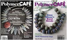Two Polymer Cafe Magazines Summer and Winter 2005 Mokume Gane Faux Cloisonne