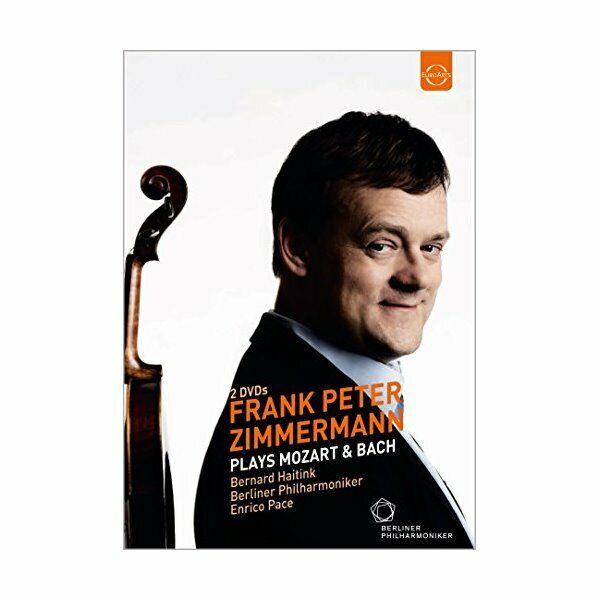 DVD Zimmermann Joue Mozart and Bach