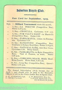 D71-1905-SUBURBAN-BICYCLE-CLUB-SEPT-RUN-CARD-BILLIARD-TOURNAMENT