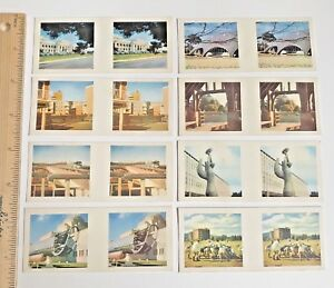 1960s-3D-TRUE-TO-LIFE-STEREO-VIEWER-CARDS-CEREAL-SANITARIUM-CANBERRA-SET-OF-8