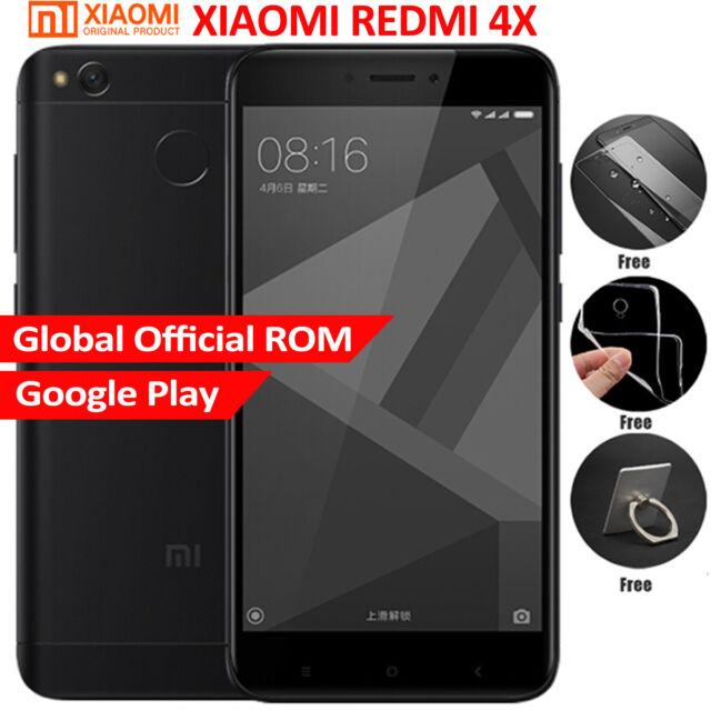"5"" XIAOMI Redmi 4X 32GB 4G 8*Core 13MP 4100mA Snapdragon 435 2*SIM Global ROM"