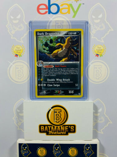 Dark Dragonite 15/109 LP Played EX Team Rocket Returns Holofoil Rare Holo Card