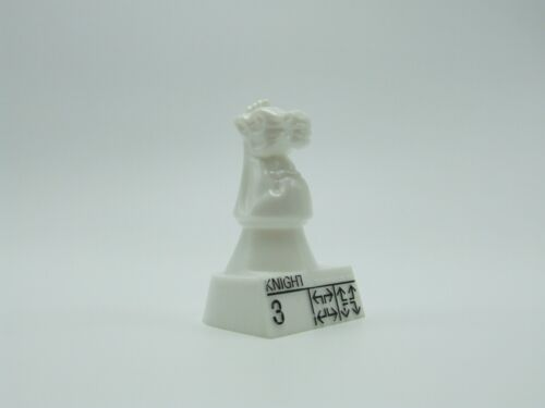 Chess Teacher Replacement White Knight Chess Game Piece Part Pavilion 1992