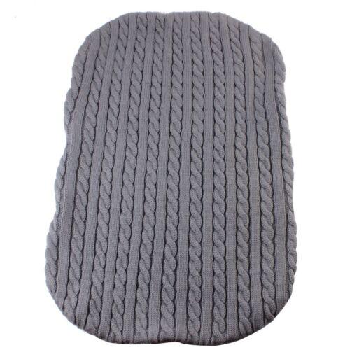 Newborn Baby Infant Blanket Knit Crochet Swaddle Wrap Sleeping Bag Winter Warm