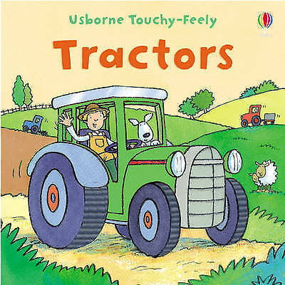 Touchy-feely Tractor-ExLibrary