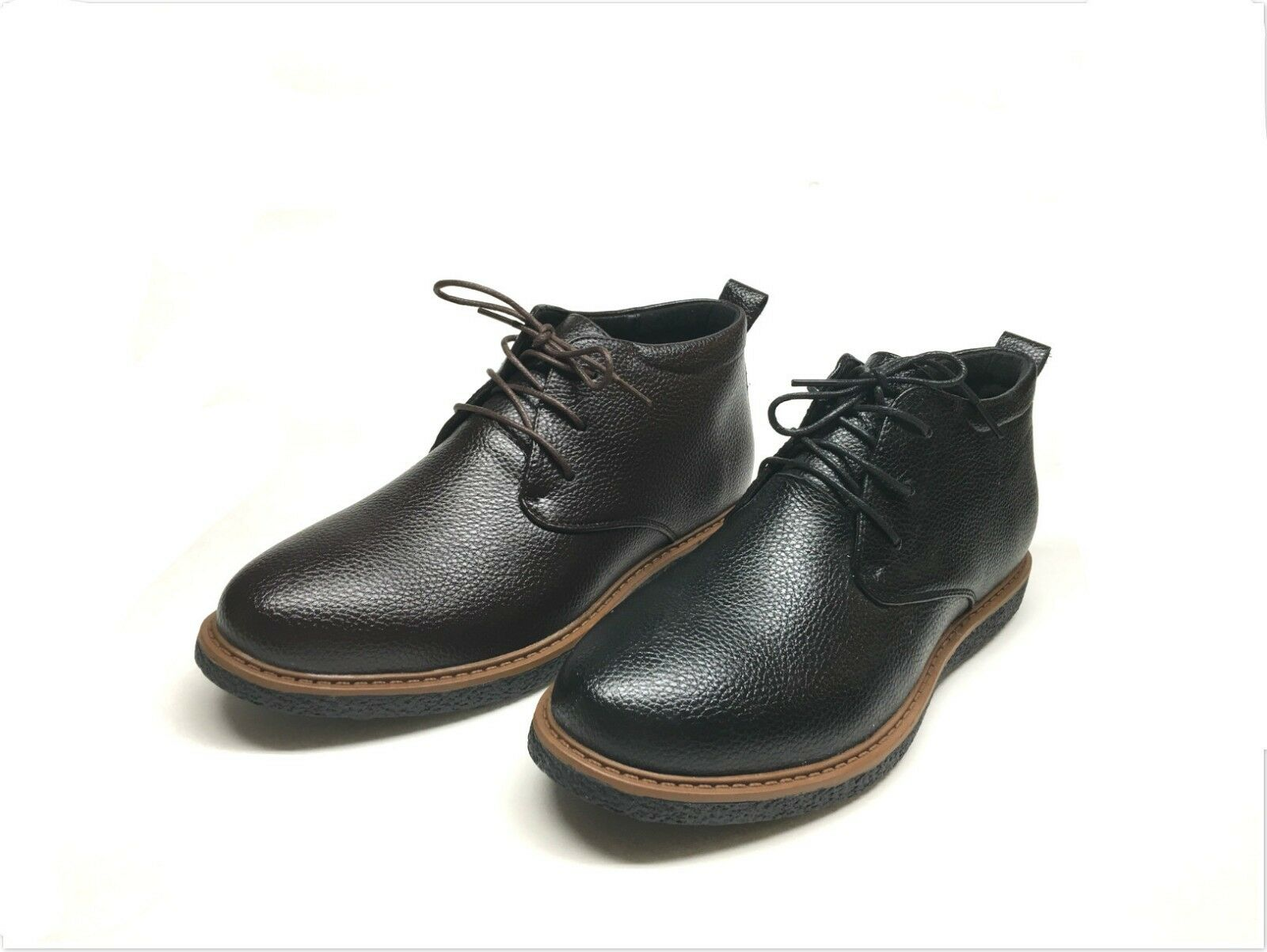 NEW MEN'S LACE UP CASUAL FASHION ANKLE CHUKKA BOOTS