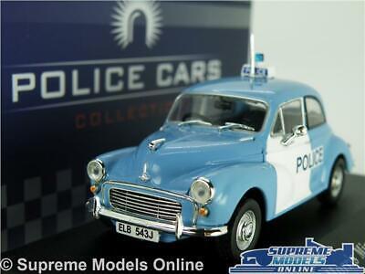 HINDUSTAN AMBASSADOR MORRIS OXFORD MODEL POLICE CAR 1:43 IXO DISPLAY CASE K8