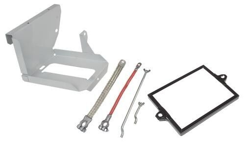 New Battery Box Kit Includes Tray, Battery Cables /& Bolts for Ford 8N Tractor