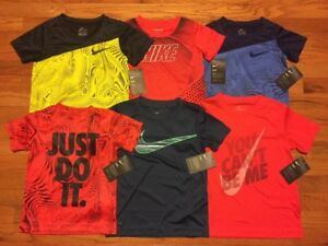 Nike Boys Dry Short Sleeve Top