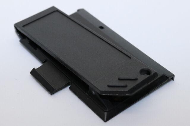 Akkudeckel / Clip Swissphone Quattro und Hurricane, schwarz