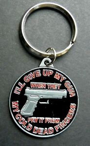 Other Militaria 2nd Amendment Give Up Gun When They Pry From My Cold Dead Fingers Patch