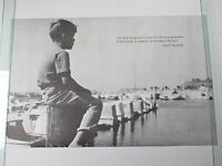 Vintage 1970 John F Kennedy Poster Best Generation History Of Mankind Harbor