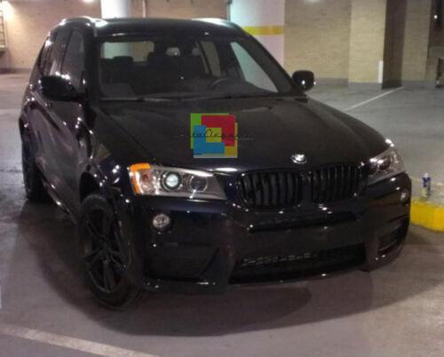 CALANDRA BMW X3 F25 2010-2014 GRIGLIA ANTERIORE NERA MASCHERINA DESIGNI M