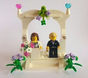 lego wedding cake toppers unique personalised lego wedding cake topper gift ebay 16791