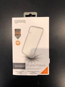 huge selection of e52bc 469f9 Details about Gear4 D30 Crystal Palace Case for Apple iPhone XS Max Clear  Slightly Used Case