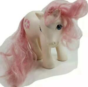 My Little Pony G1 SUNDANCE 1983 Hasbro White with Pink Hearts MLP Vintage