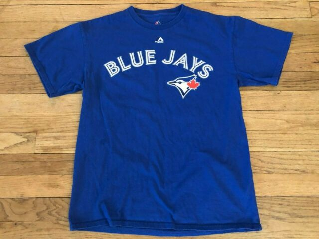 TORONTO BLUE JAYS MAJESTIC MEDIUM BASEBALL CANADA JERSEY