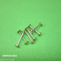 6 Long Bobbin For Singer Treadle Sewing Machine (genuine) 27 28 127 128 8228