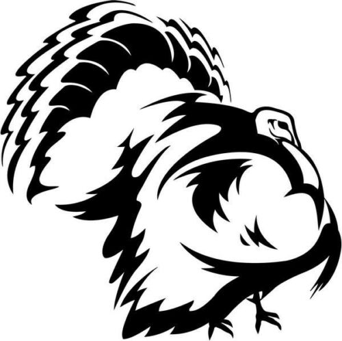 Turkey Animal Car Window Vinyl Decal Sticker
