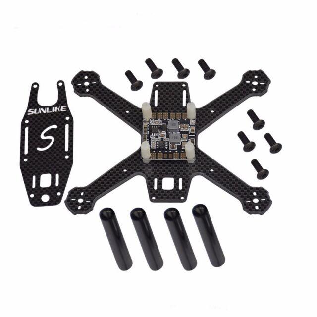 S130A Mini 130mm Integrated Frame Super Light Carbon Fiber Quadcopter with PDB