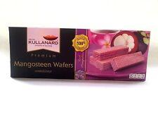 MANGOSTEEN WAFER NATURAL FOOD PREMIUM FRUIT PICNIC  SNACKS  THAILAND  120 g.