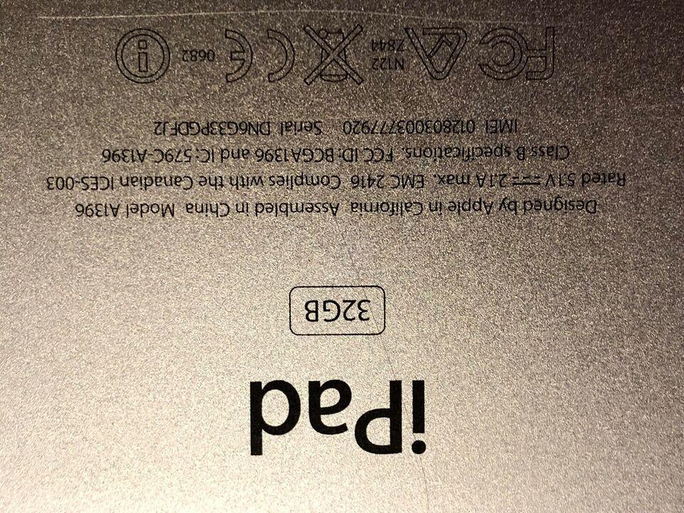 iPad 3, 32 GB, sort