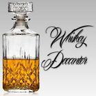 Glassware 900ml Whiskey Wine Bourbon Brandy Sherry Glass Decanter