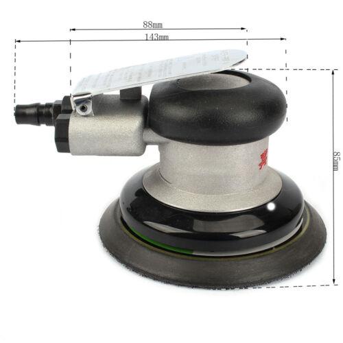 "5/""Air Random Orbital Sander Round Pneumatic Polisher Polishing Tool For Body Car"