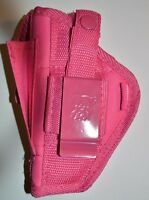 Pink Holster For Walther P-22 With 3.4 Barrel