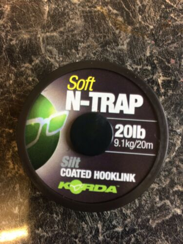5 X Pêche À La Carpe Slip D Rigs Taille 8 sans ardillon par vis attaché avec N-Trap Korda