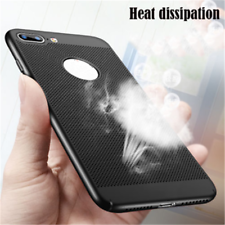 Ultra Thin Slim Heat Dissipation Matte Back Case Cover For iPhone 5 6 6s 7 Plus
