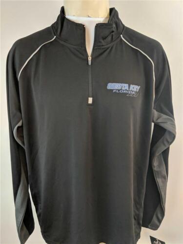 New Siesta Key Florida FL Mens L Large Long Sleeve Performance Shirt
