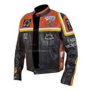 New-HDMM-Mickey-Rourke-Marlboro-Man-Cowhide-Biker-Leather-Jacket-Heavy-BNWT