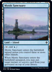 Mystic-Sanctuary-x4-Magic-the-Gathering-4x-Throne-of-Eldraine-mtg-card-lot