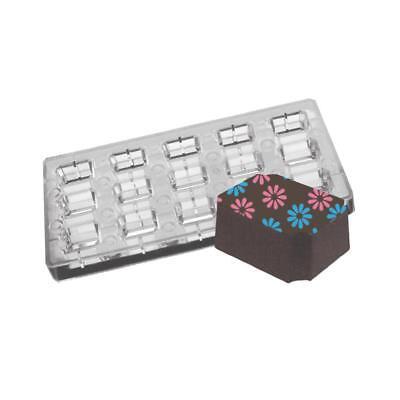 Diligente Stampo Cioccolato Magnetico Forma Rettangolo Con Angoli Ramificata Da Misterchef ®-mostra Il Titolo Originale Gradevole Al Gusto