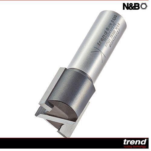 TREND TR20DX1//2TC TWO FLUTE 20MM DIA X 20MM CUT