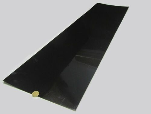 "3//32 HDPE 4 Units Sheet Black,.093 Thick x 12/"" Wide x 48/"" Long Polyethylene"