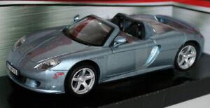 Motormax-1-24-Escala-Modelo-de-Metal-73305-Porsche-Carrera-GT-LT-met-azul