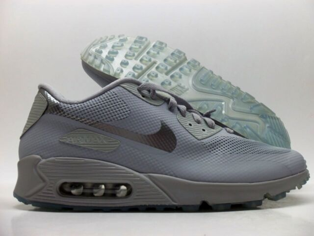 sports shoes cccf8 fc1d6 NIKE AIR MAX 90 HYPERFUSE PREMIUM ID COOL GREY SILVER SZ MEN S 11.5  653603