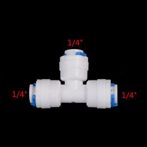 5Pcs-Lot-1-4-034-Tube-Od-Tuyau-De-Type-T-Qucik-Connecteur-D-039-Eau-Ro-Connecteur-JE